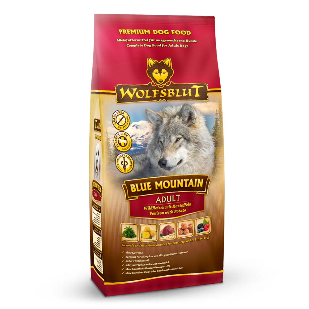 Wolfsblut Adult Blue Mountain Trockenfutter 2 kg